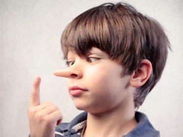 Minciunile copiilor